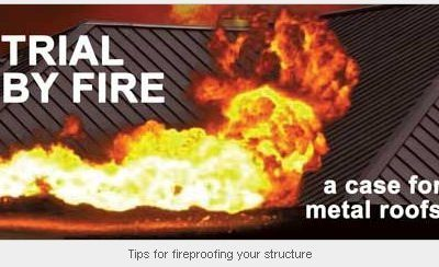 Trial by fire: Tips for fireproofing your structure