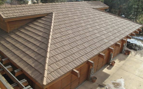 Stone Coated Steel Shake Metal Roof